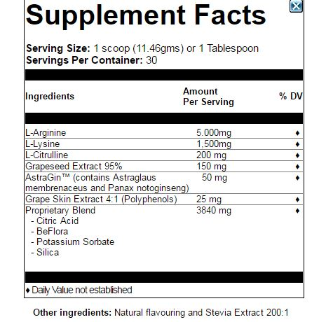 healthy flow label