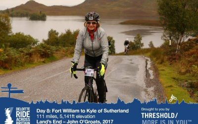 Reach for the stars – my Ride Across Britain experience